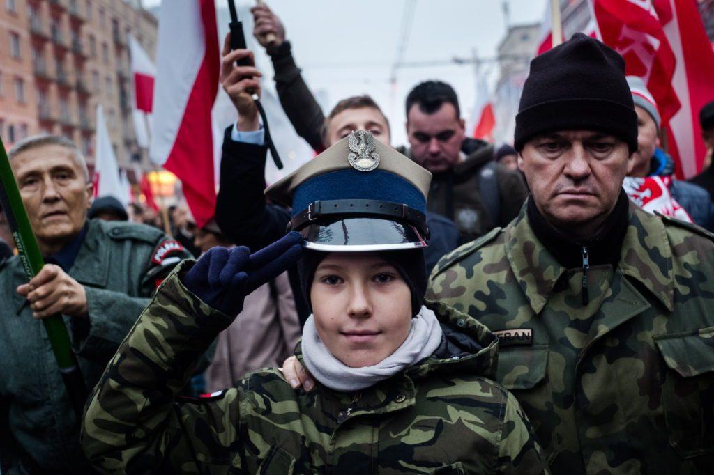 Függetlenség-napi felvonulás Varsóban
