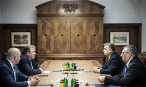 Nyikola Koszov és Orbán Viktor 2019 januárjában