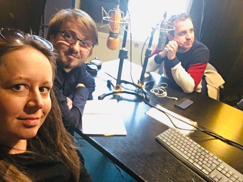 Kőműves Anita, Tremmel Márk és Tóth Balázs a Tilos rádióban 2019.03.26.